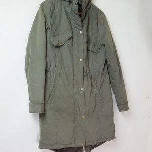 Members Only X Urban Outfitters green parka XS